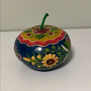 Other - Handmade Mexican Apple jewellery Storage